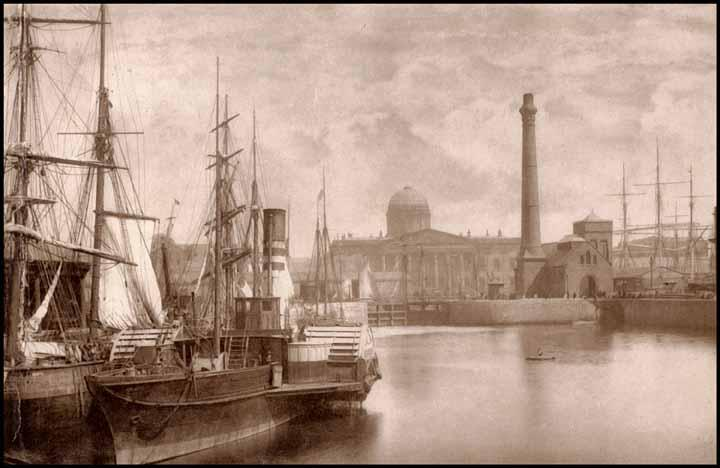 Where my grandfather Sullivan worked, and became Master, the Liverpool Customs House.
