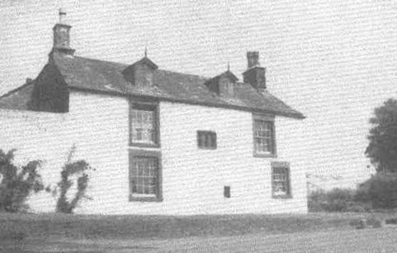 A picture of Lower Greenbank Farmhouse where Jean Flann first worked as a Land Girl.