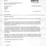 Defra responds to my question about recognition for WLA members, Land Girls, informing me that a badge would be awarded to those alive on December 6, 2007.